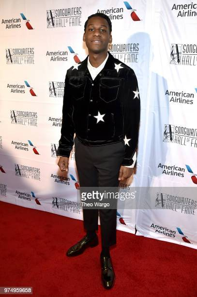 Leon Bridges attends the Songwriters Hall of Fame 49th Annual Induction and Awards Dinner at New York Marriott Marquis Hotel on June 14 2018 in New...