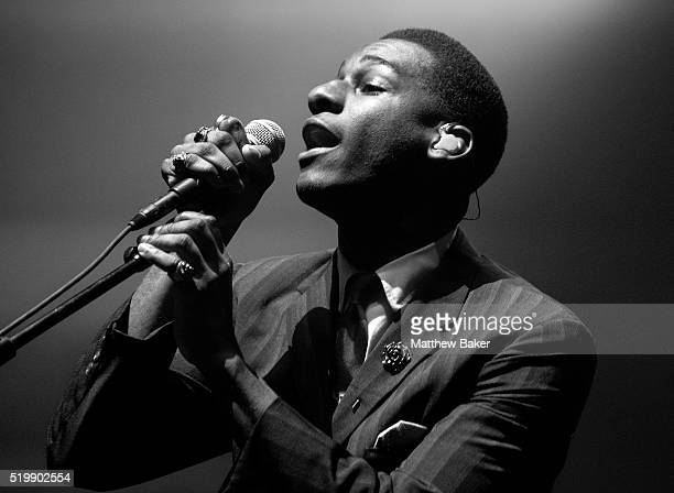 Leon Bridges performs at Brixton Academy on April 8, 2016 in London, England.
