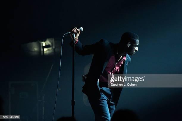 Leon Bridges performs at Brown Theatre on June 9, 2016 in Louisville, Kentucky.