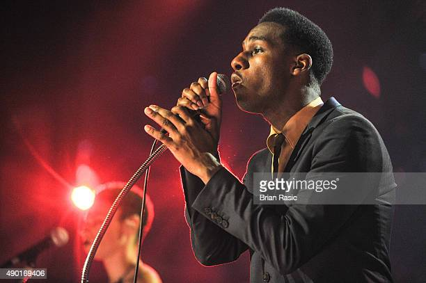 Leon Bridges performs during the Apple Music Festival 2015 at The Roundhouse on September 26, 2015 in London, England.