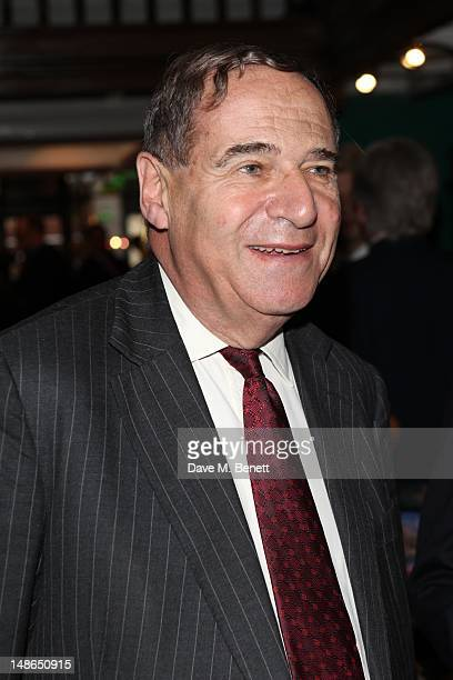 Leon Brittan attends Stanley Johnsons' book launch party at Daunt Books in Marylebone High St on July 18 2012 in London England