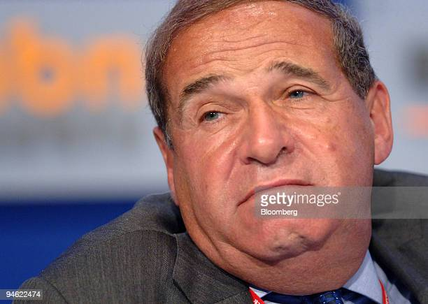 Leon Brittan vice chairman of UBS Ltd listens during a session of the 2006 World Knowledge Forum in Seoul South Korea on Wednesday October 18 2006