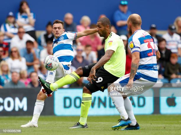 Leon Clarke of Sheffield United during the Sky Bet Championship match between Queens Park Rangers and Sheffield United at Loftus Road on August 11...