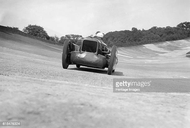 Leon Cushman's Austin 7 racer making a speed record attempt Brooklands 8 August 1931 Austin Works sv racer 747 cc Driver Cushman Leon Place...