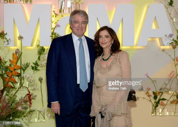 Leon D. Black and Debra Black attend MoMA's Party in the Garden 2019 at The Museum of Modern Art on June 04, 2019 in New York City.