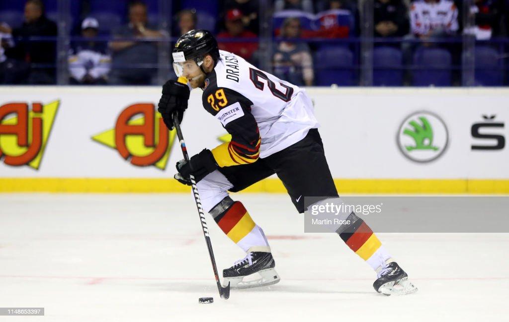 Denmark v Germany: Group A - 2019 IIHF Ice Hockey World Championship Slovakia : News Photo