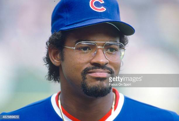 Leon Durham of the Chicago Cubs looks on prior to the start of a Major League Baseball game circa 1984 Durham played for the Cubs from 198188