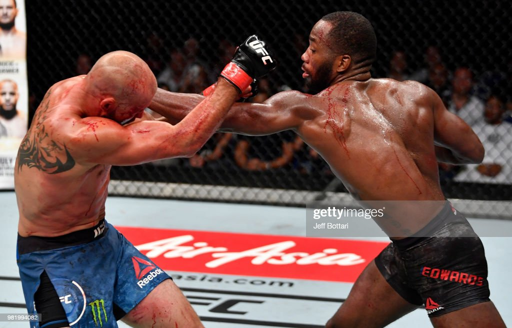 UFC Fight Night: Cowboy v Edwards : News Photo