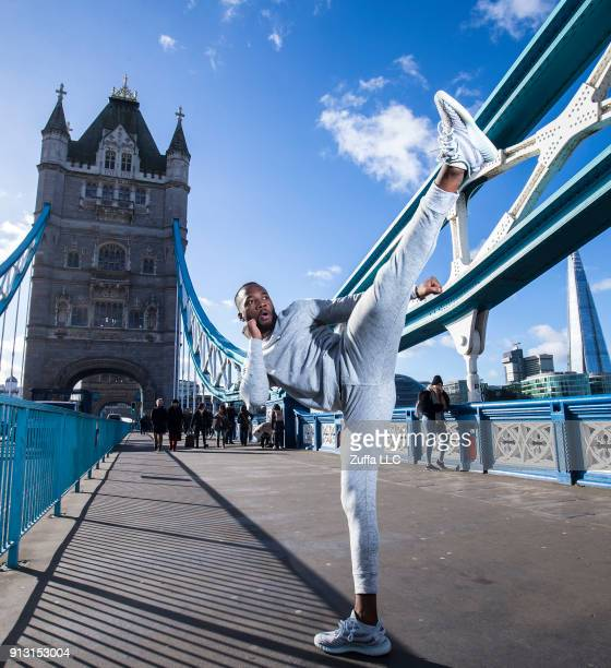 Leon Edwards photographed for a preview to the UFC Fight Night London on February 1 2018 in London England