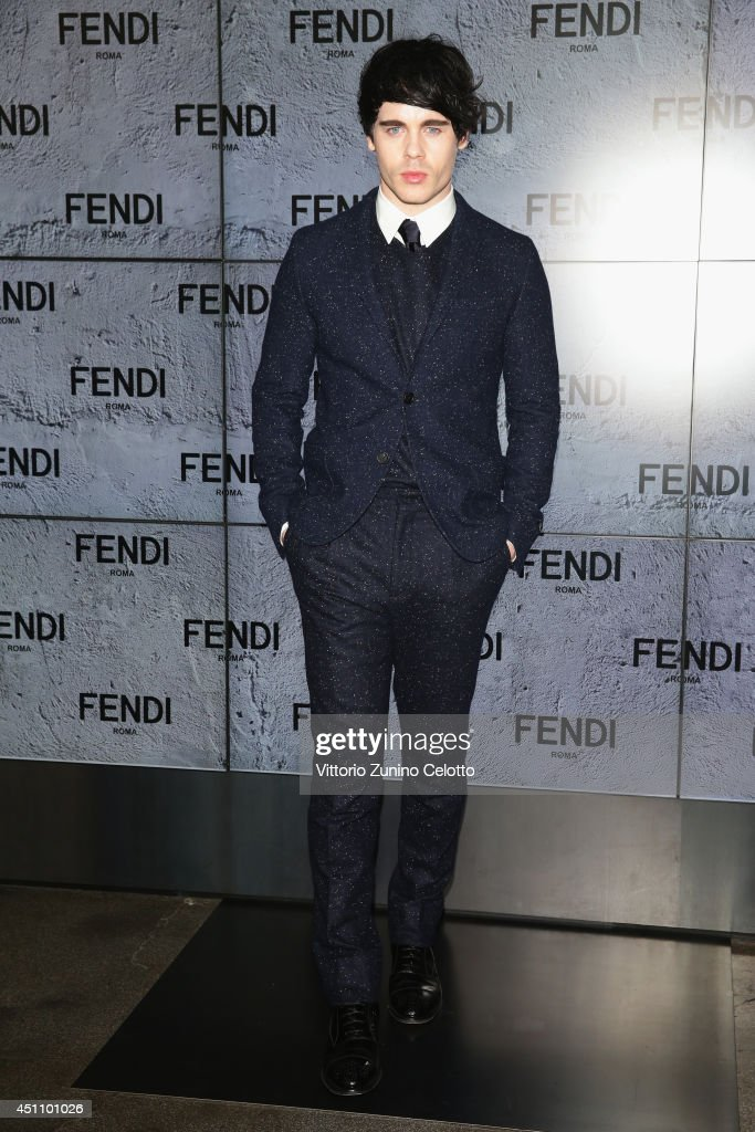 Leon Else attends the Fendi show during Milan Menswear Fashion Week Spring Summer 2015 on June 23, 2014 in Milan, Italy.