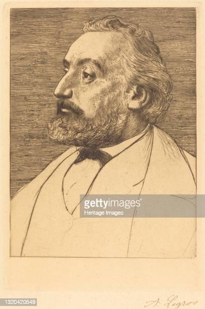 Leon Gambetta, 2nd plate. Artist Alphonse Legros.