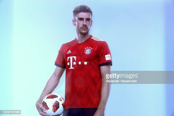 Leon Goretzka of FC Bayern Muenchen during the FC Bayern Muenchen and Paulaner Photo Session at FGV Schmidtle Studios on September 2 2018 in Munich...