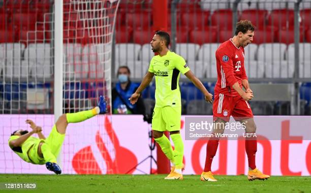 Leon Goretzka of FC Bayern Munich c2 during the UEFA Champions League Group A stage match between FC Bayern Muenchen and Atletico Madrid at Allianz...