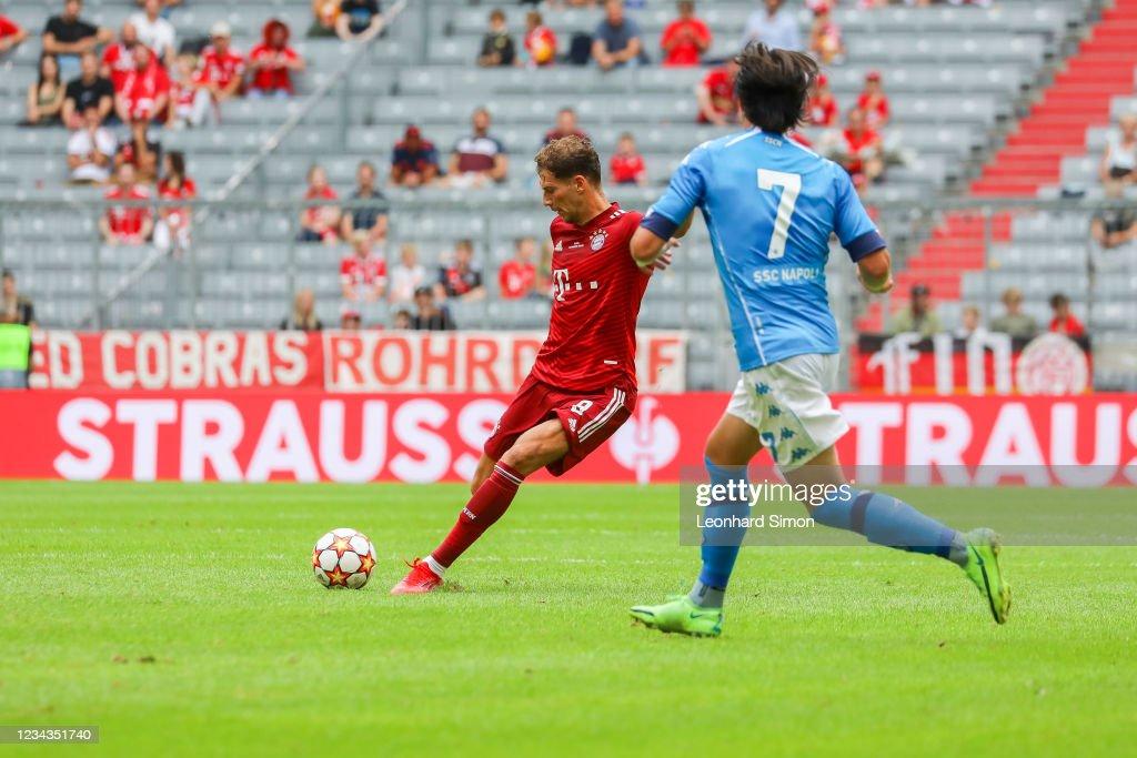 FC Bayern Munich v SSC Napoli - Pre-Season Match : News Photo