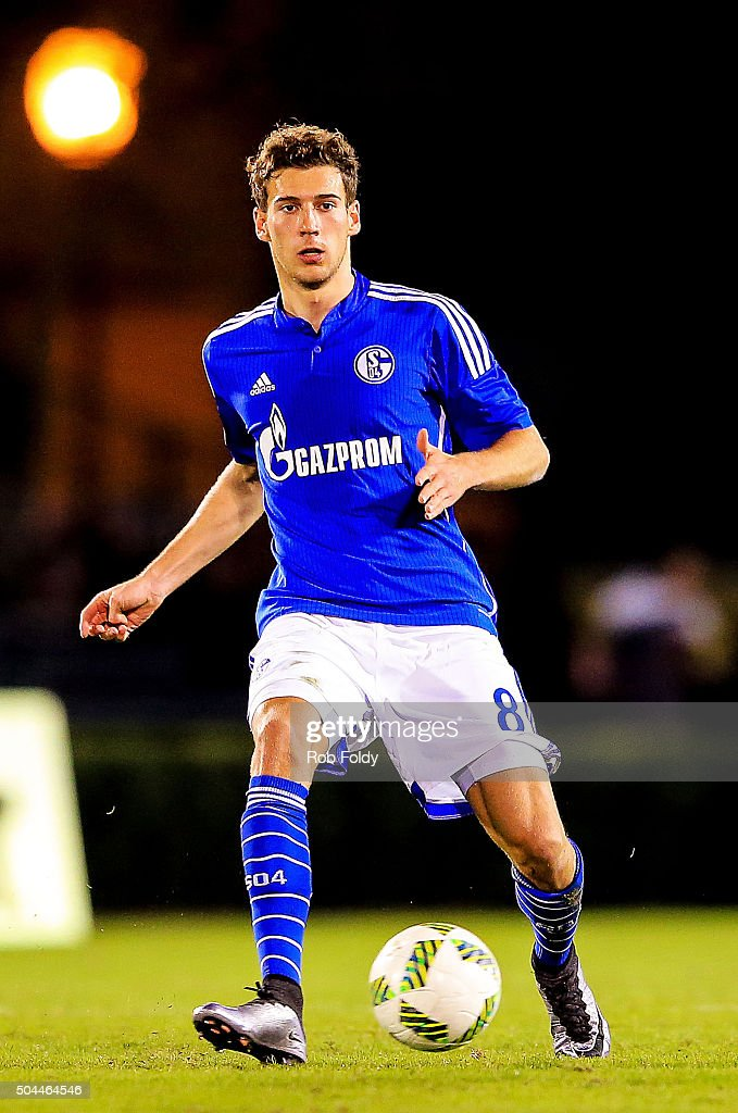 Leon Goretzka #8 of FC Schalke 04 in action during the match against the Fort Lauderdale Strikers at the ESPN Wide World of Sports Complex on January 10, 2016 in Kissimmee, Florida.