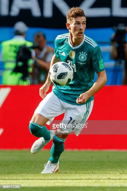 Leon Goretzka of Germany controls the ball during the 2018 FIFA World Cup Russia group F match between Korea Republic and Germany at Kazan Arena on...