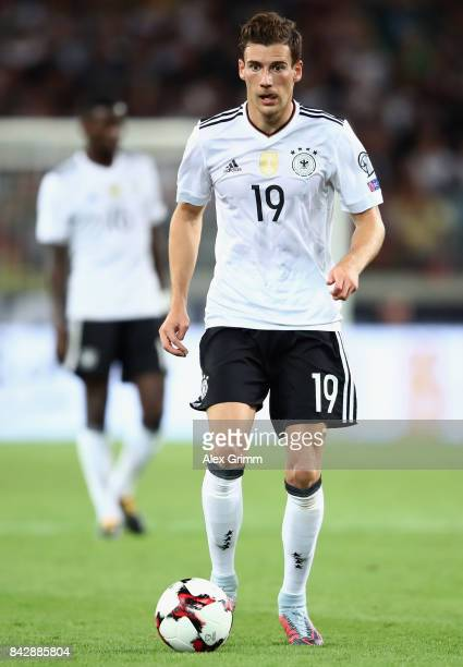 Leon Goretzka of Germany controls the ball during the FIFA World Cup Russia 2018 Group C Qualifier between Germany and Norway at MercedesBenz Arena...
