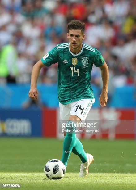 Leon Goretzka of Germany during the 2018 FIFA World Cup Russia group F match between Korea Republic and Germany at Kazan Arena on June 27 2018 in...