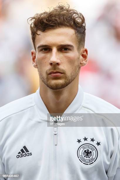 Leon Goretzka of Germany looks on prior to the 2018 FIFA World Cup Russia group F match between Korea Republic and Germany at Kazan Arena on June 27...
