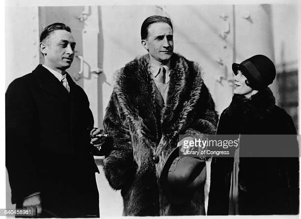 Leon Hartt, Marcel Duchamp and Mrs. Hartt