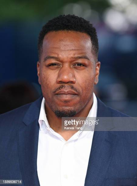 """Leon """"Locksmith"""" Rolle attends the National Television Awards 2021 at The O2 Arena on September 09, 2021 in London, England."""