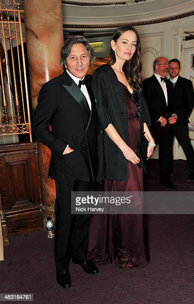 Leon Max and Yana Boyko attend the British Fashion Awards 2013 at London Coliseum on December 2 2013 in London England