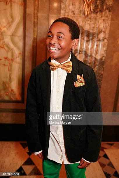 Leon Outlaw Jr attends the opening night of Motown The Musical at The Fisher Theatre on October 22 2014 in Detroit Michigan