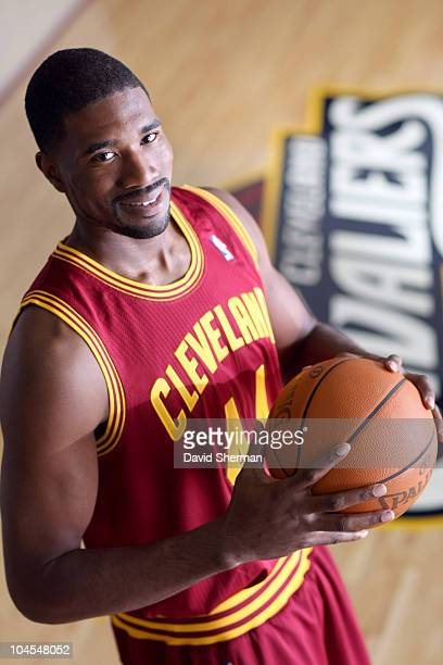 Leon Powe of the Cleveland Cavaliers poses for a portrait during the 2010 NBA Media Day on September 27 2010 at the Cleveland Clinic Courts in...