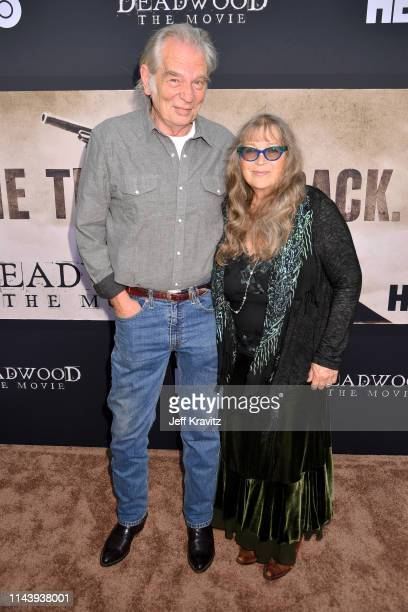 Leon Rippy and Carol Rippy attend the Deadwood Movie Premiere on May 14 2019 in Los Angeles California