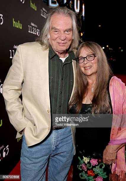 Leon Rippy and Carol Rippy attend the Hulu Original '112263' premiere at the Regency Bruin Theatre on February 11 2016 in Los Angeles California