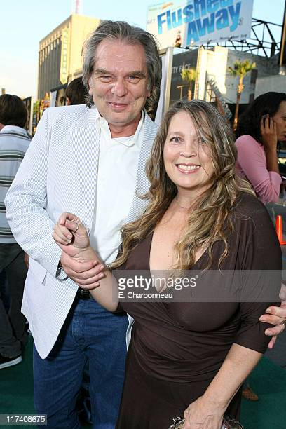 Leon Rippy and wife Carol during The Los Angeles Premiere of Columbia Pictures' Gridiron Gang at Grauman's Chinese Theatre in Hollywood California...