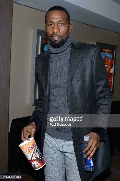"Leon Robinson attends The Cinema Society & Monkey 47 Host A Special Screening Of Sony Pictures Classics' ""Greed"" at Cinepolis Chelsea on February 24,..."