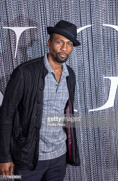 Leon Robinson attends the New York premiere of The King at SVA Theater Manhattan
