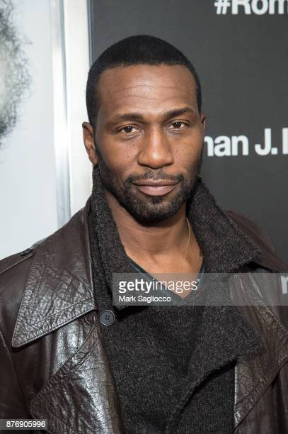 Leon Robinson attends the Roman J Israel Esquire New York Premiere at Henry R Luce Auditorium at Brookfield Place on November 20 2017 in New York City