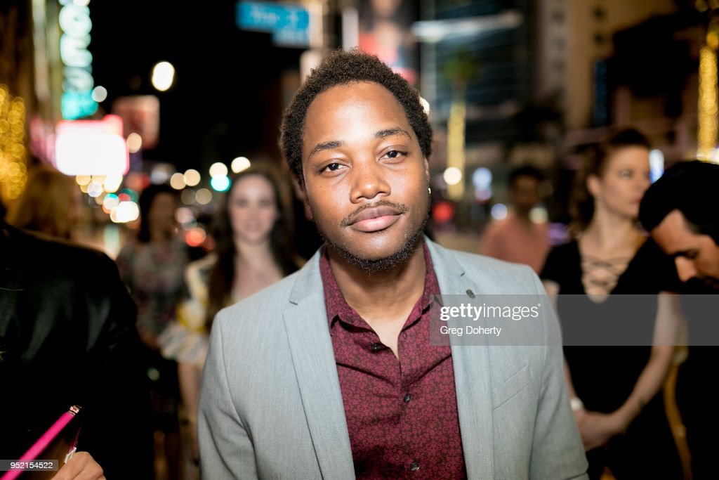 Leon Thomas attends The Bay's Pre-Emmy Red Carpet Celebration at 33 Taps Hollywood on April 26, 2018 in Los Angeles, California.