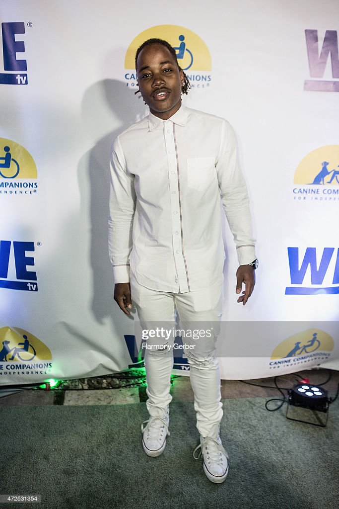 Leon Thomas III attends the WETv 'Pet Project' To Raise Awareness For Canine Companions For Independence at Boulevard3 on May 7, 2015 in Hollywood, California.