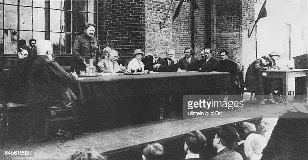 Leon Trotsky People's Commissar of Military and Naval Affairs of the Soviet Union as head of the State Planning Commission no further information