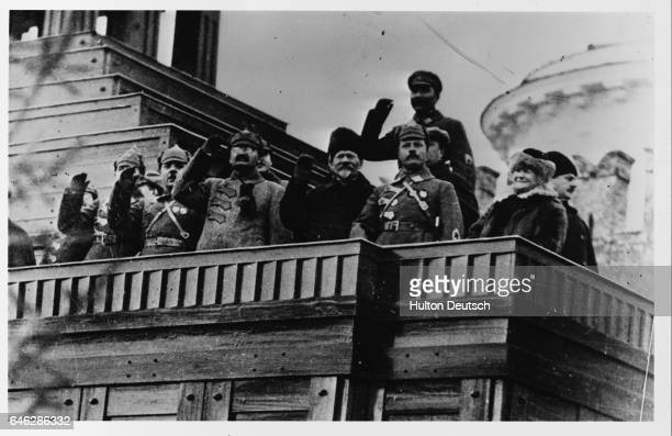 Leon Trotsky the Russian revolutionary He was one of the main leaders of the November revolution of 1917