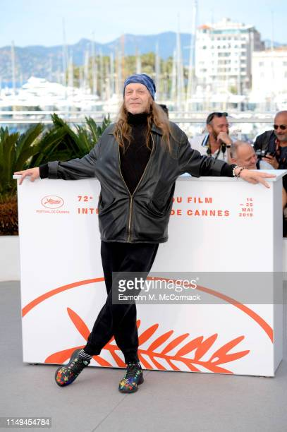 Leon Vitali attends the photocall for The Shining during the 72nd annual Cannes Film Festival on May 16 2019 in Cannes France