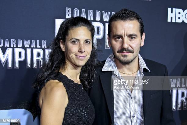 Leona Casella and Max Casella attend BOARDWALK EMPIRE HBO Series Screening at The Zigfeld Theater on September 15 2010 in New York City