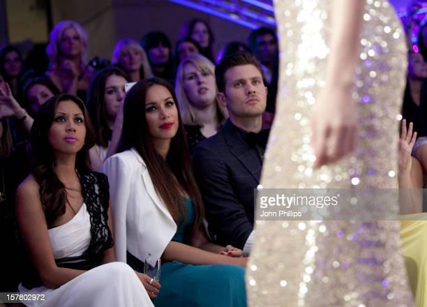 Leona Lewis And Boyfriend Dennis Jauch Attends The Ariella Couture Catwalk Show At 250 Bishopsgate London