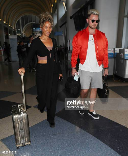 Leona Lewis and Dennis Jauch are seen on May 24 2018 in Los Angeles CA