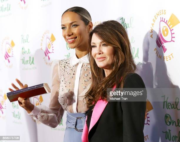 "Leona Lewis and Lisa Vanderpump arrive to the 2017 Awareness Film Festival Opening Night Premiere of ""The Road to Yulin and Beyond"" at Regal LA Live..."