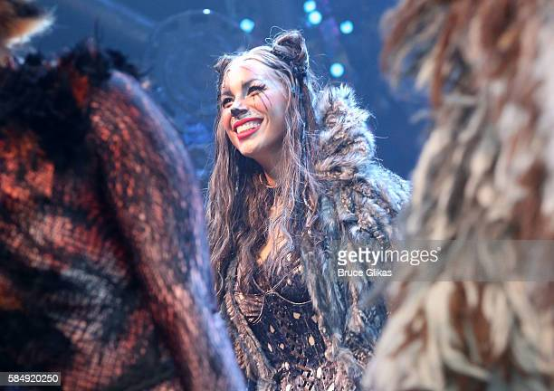 Leona Lewis as 'Grizabella The Glamour Cat' makes her Broadway debut in The Opening Night of the Revival of 'Cats' on Broadway at The Neil Simon...