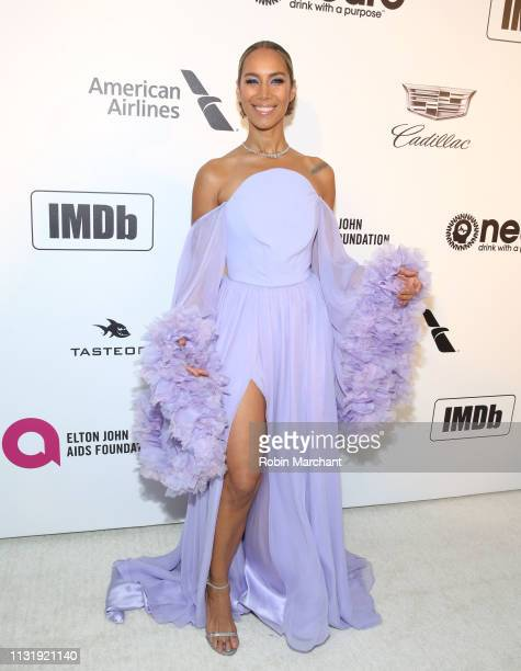 Leona Lewis attends 27th Annual Elton John AIDS Foundation Academy Awards Viewing Party Celebrating EJAF And The 91st Academy Awards on February 24...