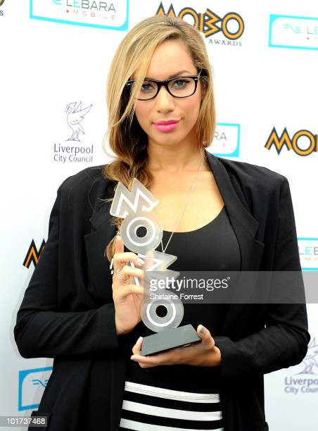 Leona Lewis attends a press call to announce Liverpool as host city for 2010 MOBO Awards on June 7 2010 in Liverpool England