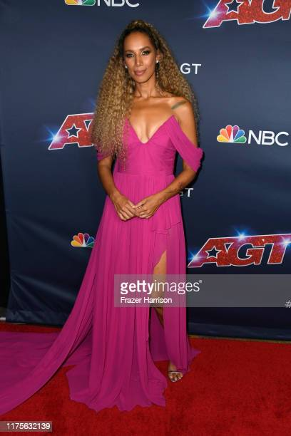 Leona Lewis attends America's Got Talent Season 14 Finale Red Carpet at Dolby Theatre on September 18 2019 in Hollywood California