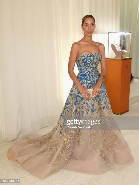 Leona Lewis attends Bulgari at the 25th Annual Elton John AIDS Foundation's Academy Awards Viewing Party at on February 26 2017 in Los Angeles...