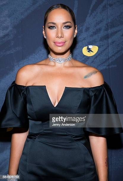 Leona Lewis attends 'Cats' opening at Gotham Hall on July 31 2016 in New York City
