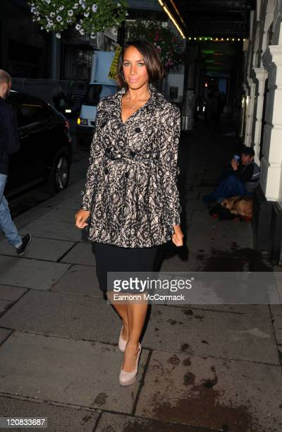 Leona Lewis attends 'Ghost The Musical' at Piccadilly Theatre on August 11 2011 in London England